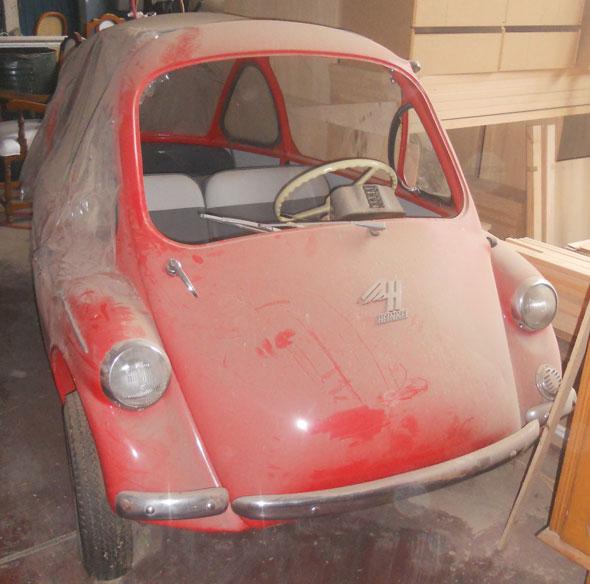 Auto Heinkel 1959