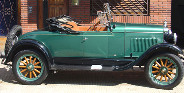 Auto Chevrolet Campe�n 1928