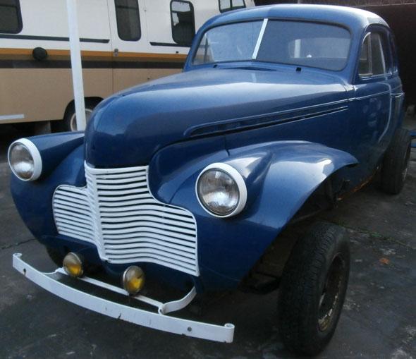 Auto Chevrolet 1940 Coupé