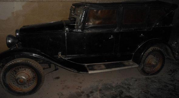 Car De Soto 1930