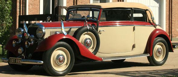 Auto Mercedes Benz 1936 Cabriolet