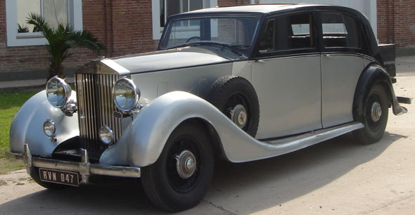 Car Rolls Royce 1938