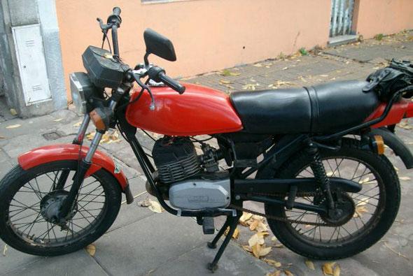 Motorcycle Zanella XX 125