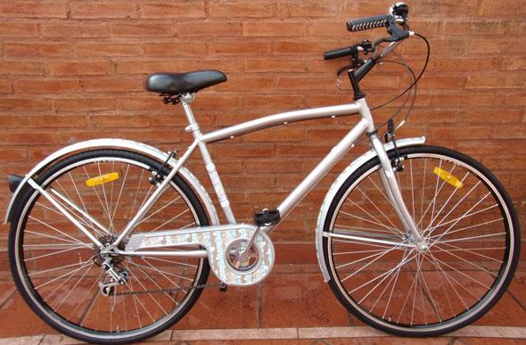 Bicicleta Urbana R28 Decorada