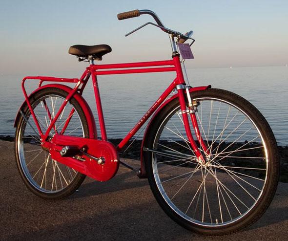 Bike R26 Roja Estilo Inglés