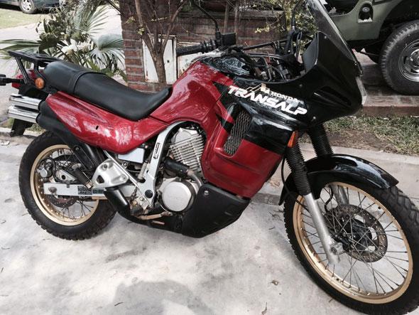 Moto Honda Transalp XL600V