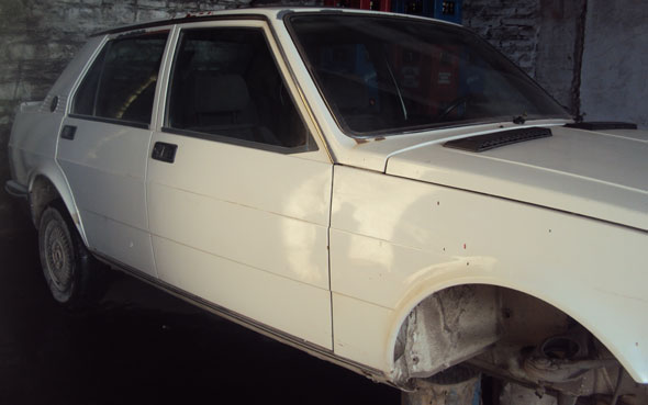 Car Alfa Romeo Giulietta 1980