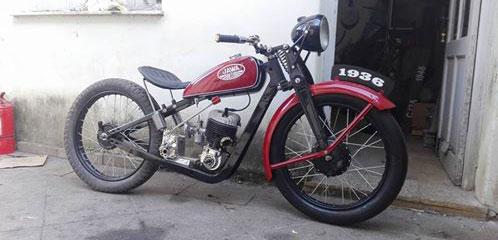 Motorcycle Jawa 175 Special