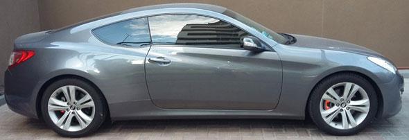 Car Hyundai Genesis 2.0t