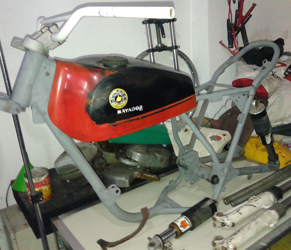 Motorcycle Bultaco Matador 250