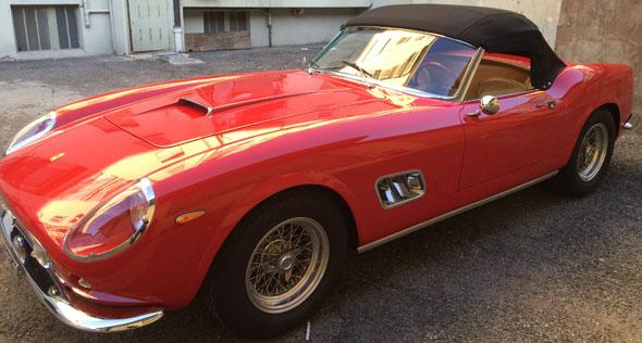 Car Ferrari 250 GT
