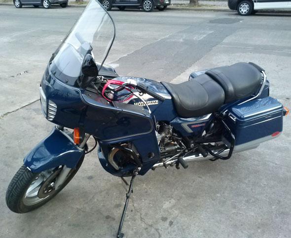 Motorcycle Moto Guzzi T5