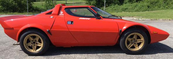 Car Lancia Stratos