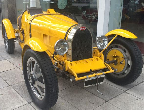 Auto Bugatti Pursang T35