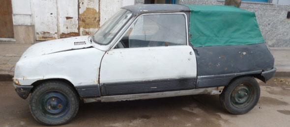 Auto Renault 5 1981