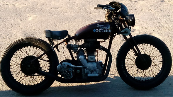 Motorcycle Royal Enfield 1942