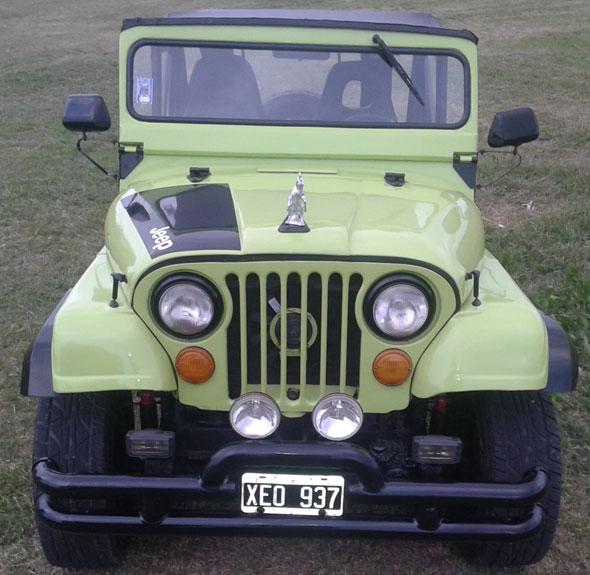Auto Jeep Deportivo