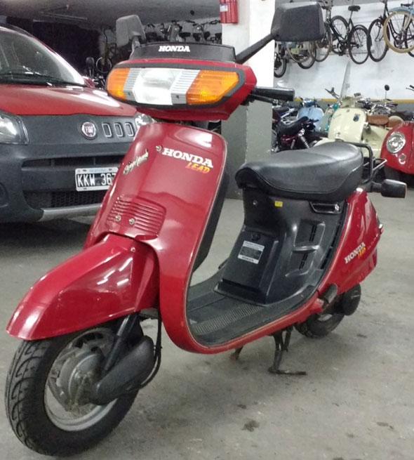 Motorcycle Honda Lead 80