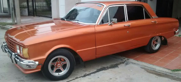 Car Ford Falcon 1973