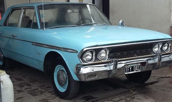 Car Rambler Boca De Pescado