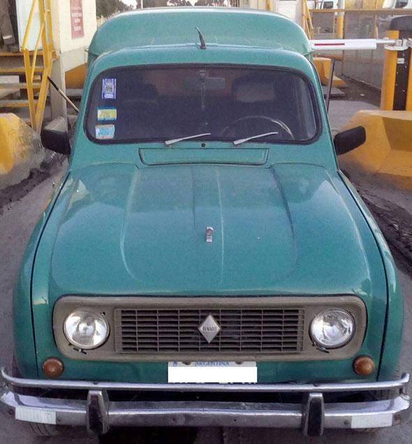 Car Renault R4F