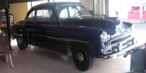 Car Chevrolet 1951 Coupé
