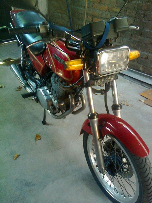 Moto Honda 1985