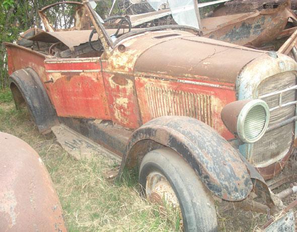 Auto Studebaker Dictador 1927