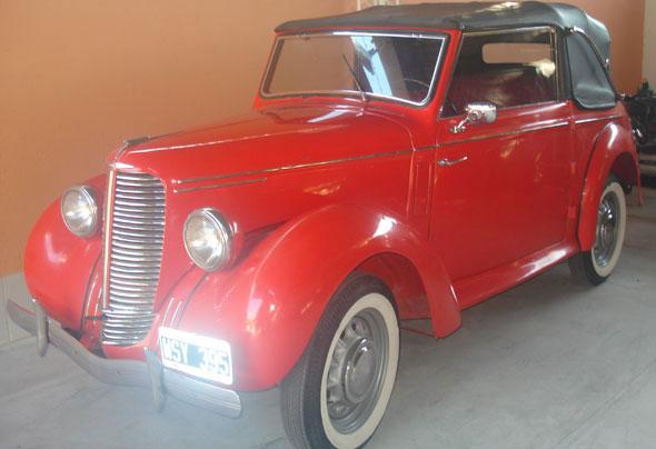 Auto Hillman 1947