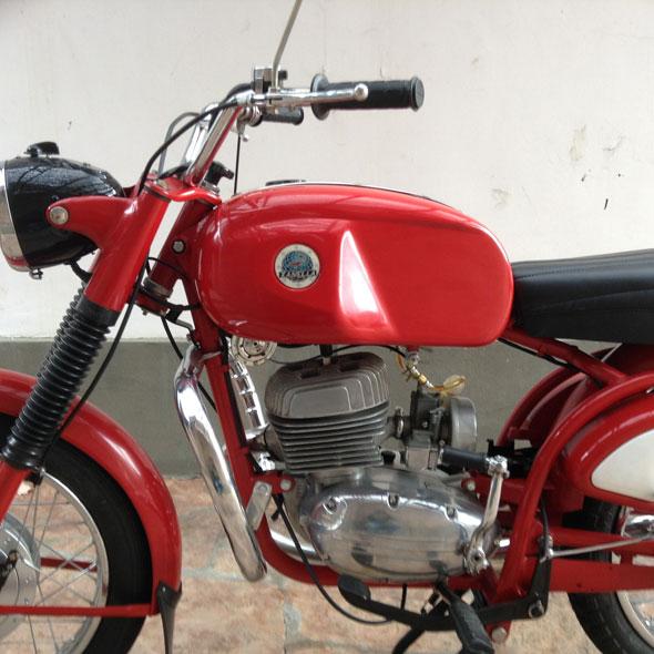 Motorcycle Zanella 1969