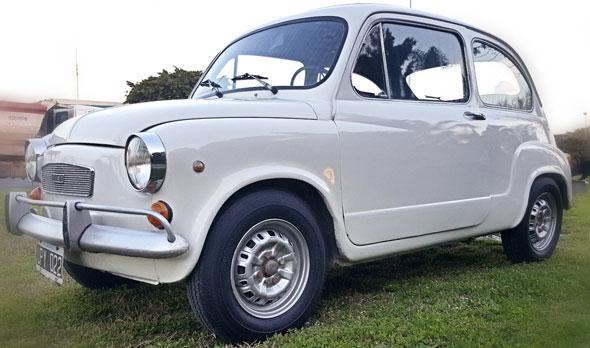 Auto Fiat 600 1976