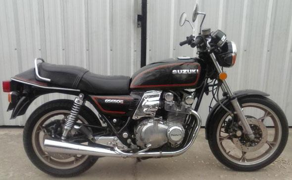 Moto Suzuki GS650G