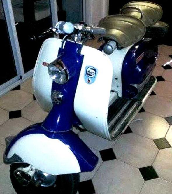 Motorcycle Siambretta 1960