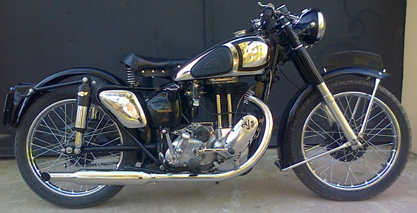 Motorcycle AJS 1948 500