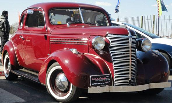Car Chevrolet 1938 Coup�