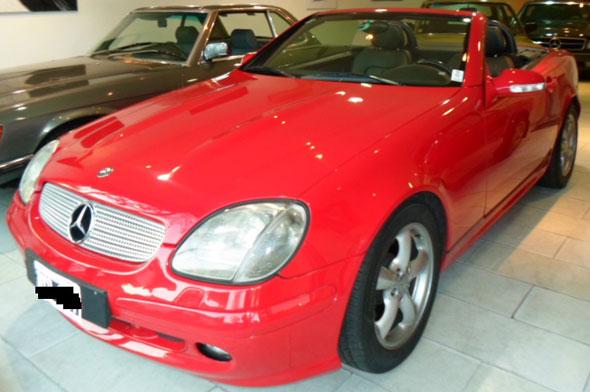Car Mercedes Benz SLK 320 V6 2001