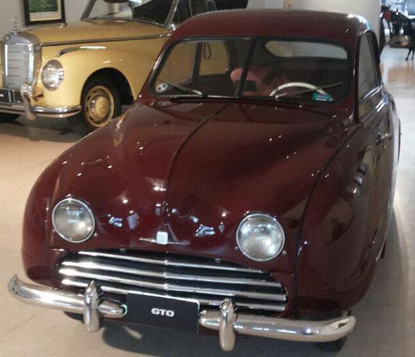 Car Saab 92 B Coupé