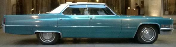 Car Cadillac Sedán De Ville