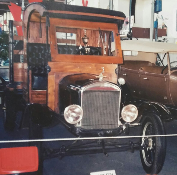 Auto Ford TT 1924