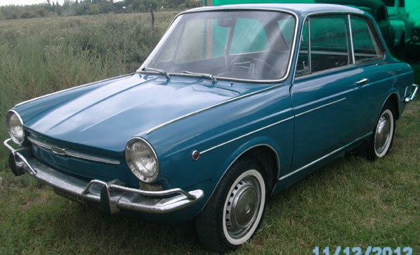 Auto Fiat 800 1966