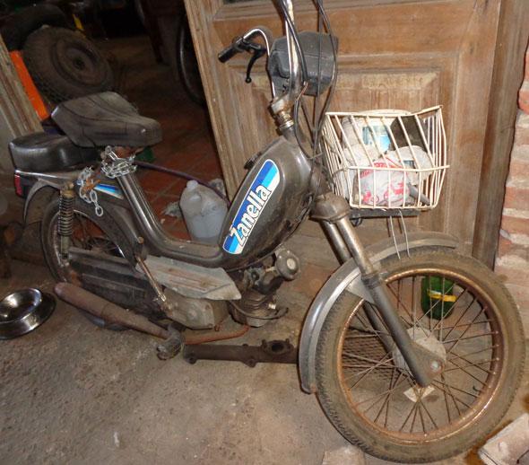 Motorcycle Zanella 1980