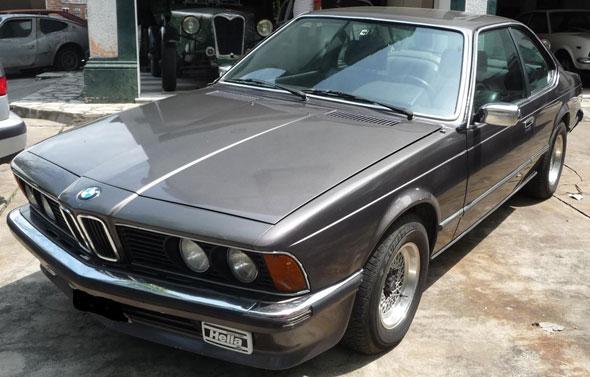 Auto BMW Coupé 628 I