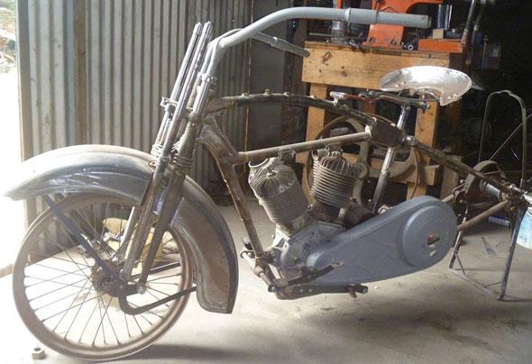 Motorcycle Harley Davidson JD