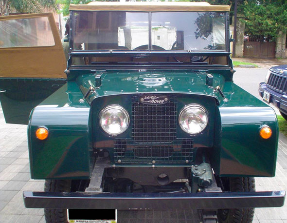 Car Land Rover Serie 1