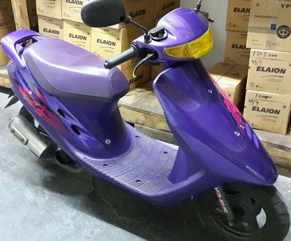 Motorcycle Honda ZX Dio