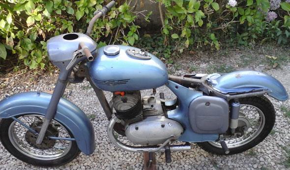 Motorcycle Jawa 1956