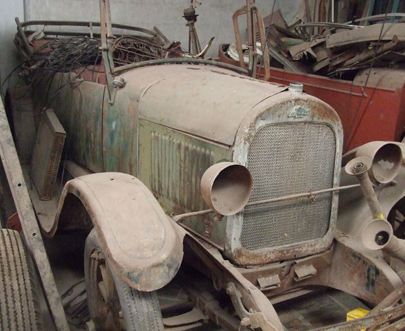 Auto Chevrolet 1925