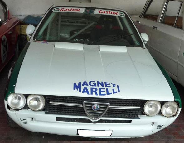 Car Alfa Romeo Alfasud Sprint Veloce