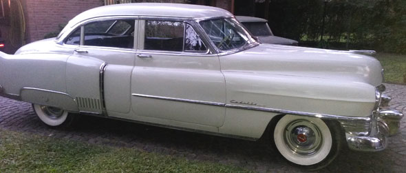 Auto Cadillac Fleetwood 1951 Sedán