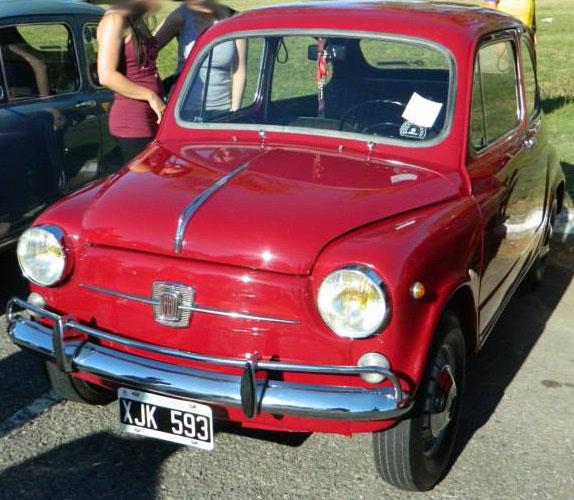 Car Fiat 600 E 1968